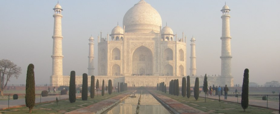 The spectacular Taj Mahal in incredible India
