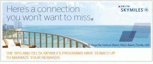 Delta Starwood Crossover Rewards