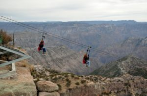 ZipRider at copper canyon adventure park